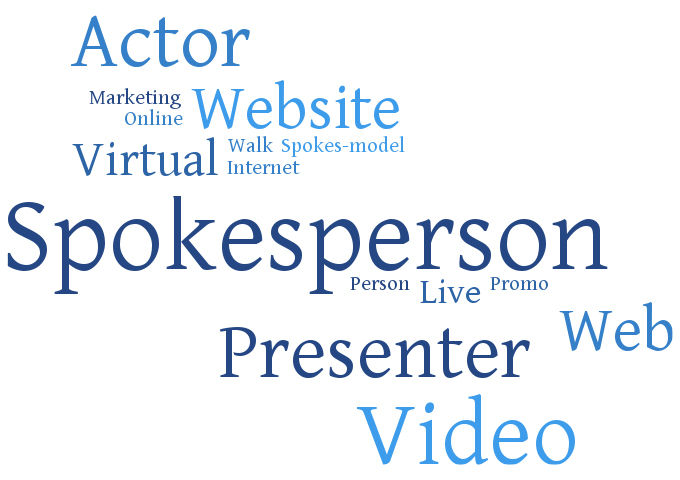 Video Spokesperson Word Cloud
